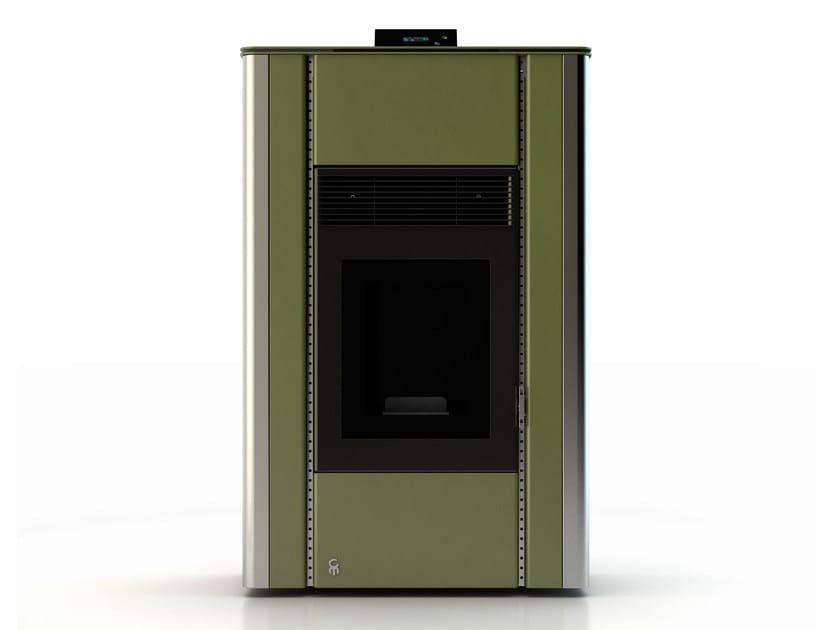 Pellet stove NUANCE MINERAL EMERALD 2 - CAR-MET