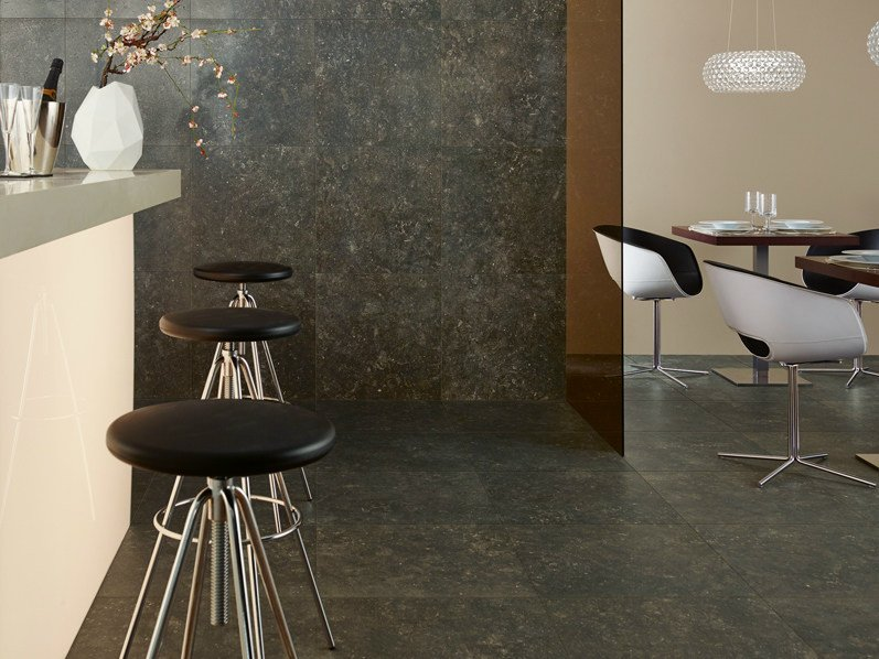 Porcelain stoneware wall/floor tiles BLUESTONE TABAC - Revigrés