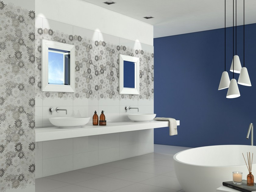 Indoor white-paste wall tiles MATRIX by FERRO SPAIN