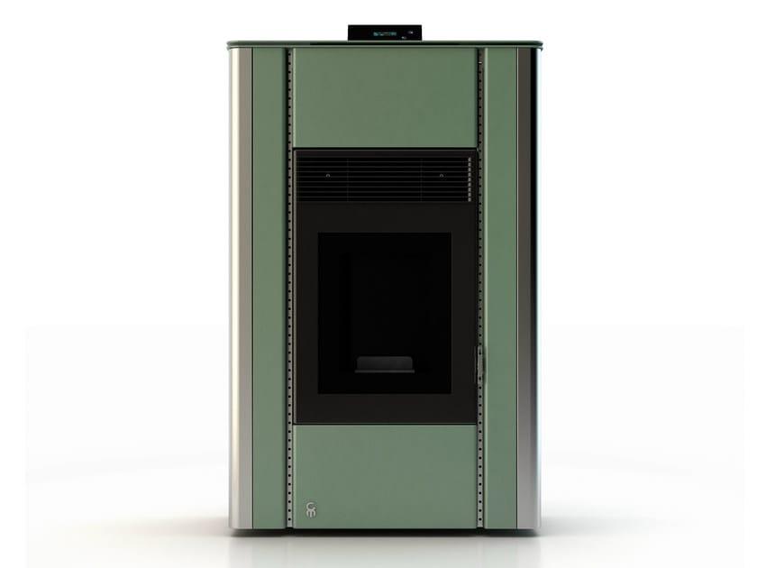 Pellet stove NUANCE MINERAL EMERALD 3 - CAR-MET