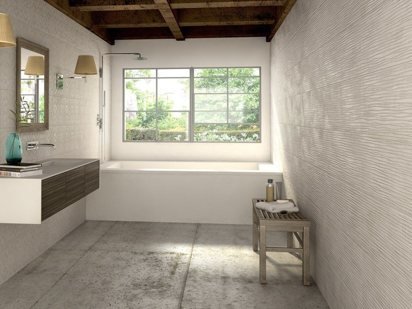 Indoor white-paste wall tiles ESPRESSIONI - FERRO SPAIN