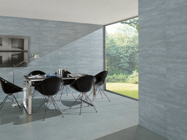 Porcelain stoneware wall/floor tiles GLOBE CINZA - Revigrés