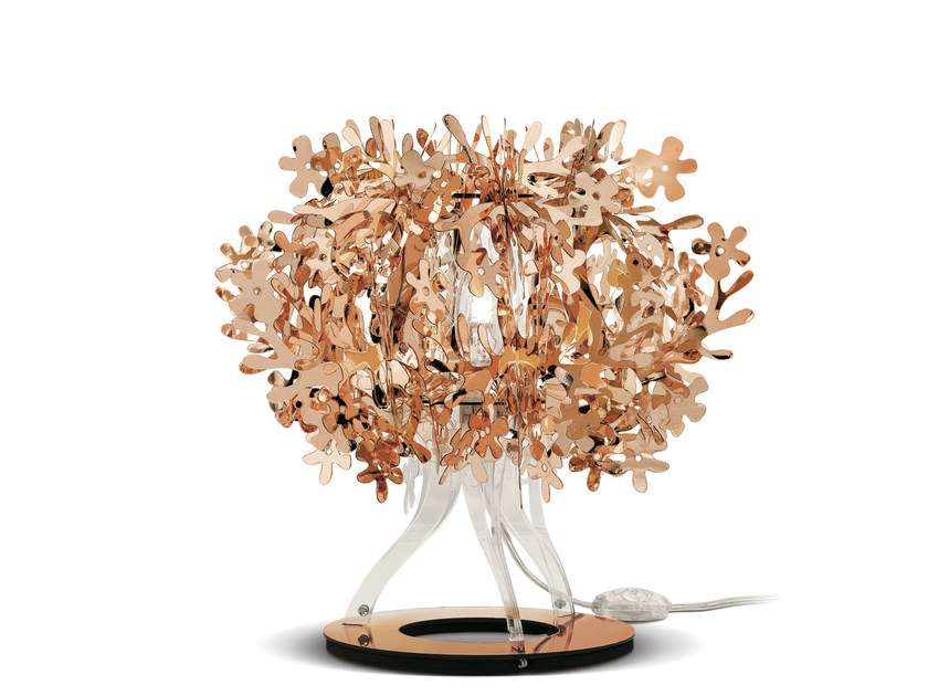 Copperflex table lamp FIORELLINA COPPER - Slamp