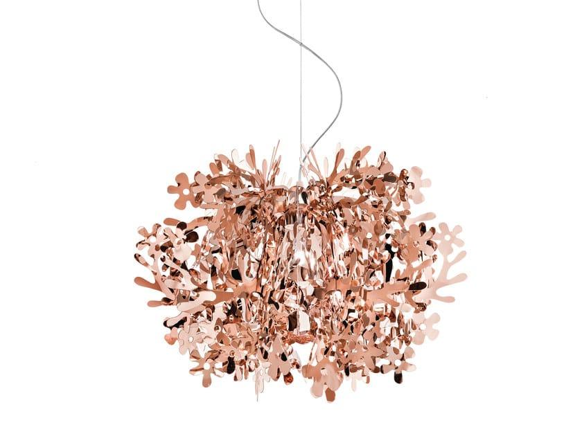 Copperflex pendant lamp FIORELLA MINI COPPER - Slamp