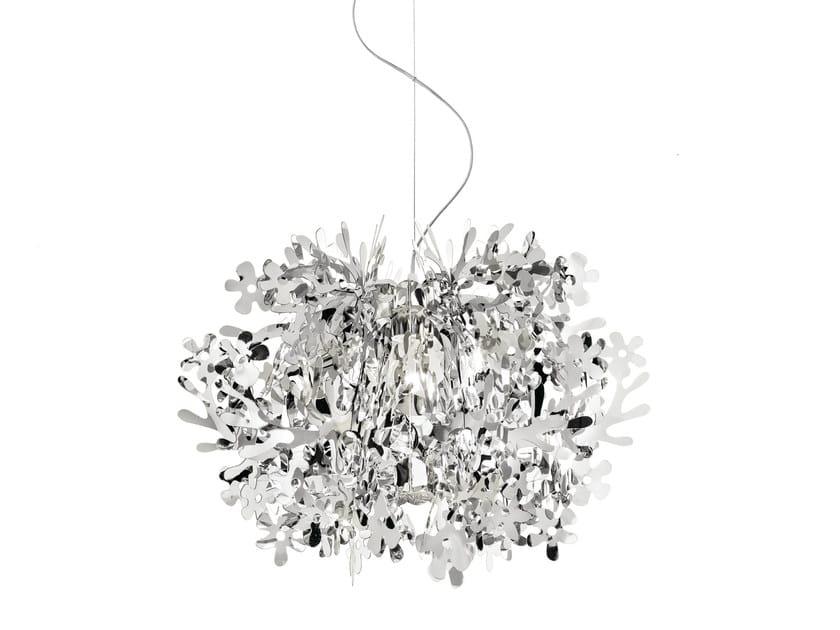 Steelflex® pendant lamp FIORELLA MINI SILVER - Slamp