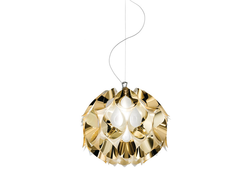 Indirect light Goldflex® pendant lamp FLORA GOLD - Slamp
