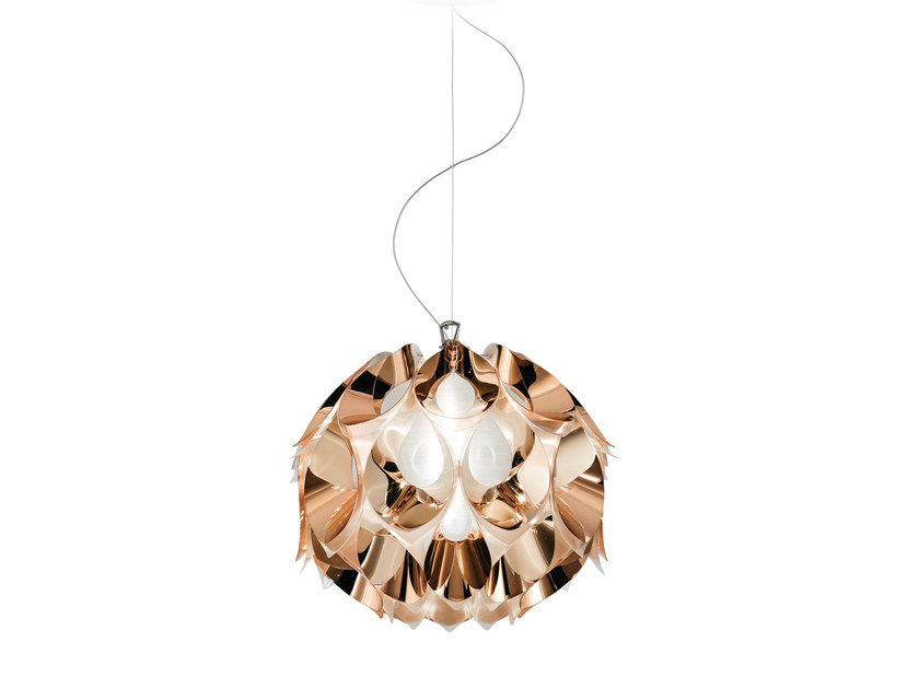 Indirect light Copperflex pendant lamp FLORA COPPER - Slamp
