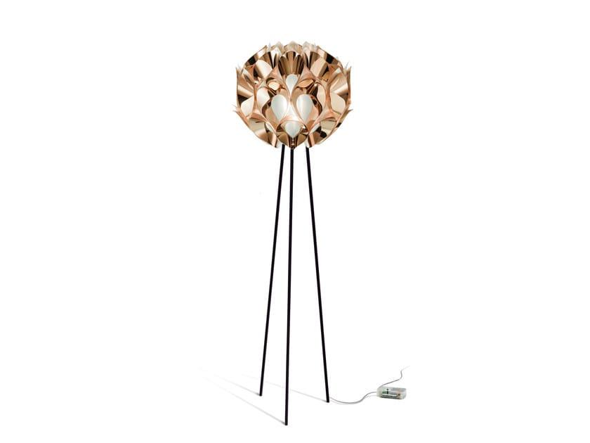 Indirect light Copperflex floor lamp FLORA FLOOR COPPER by Slamp