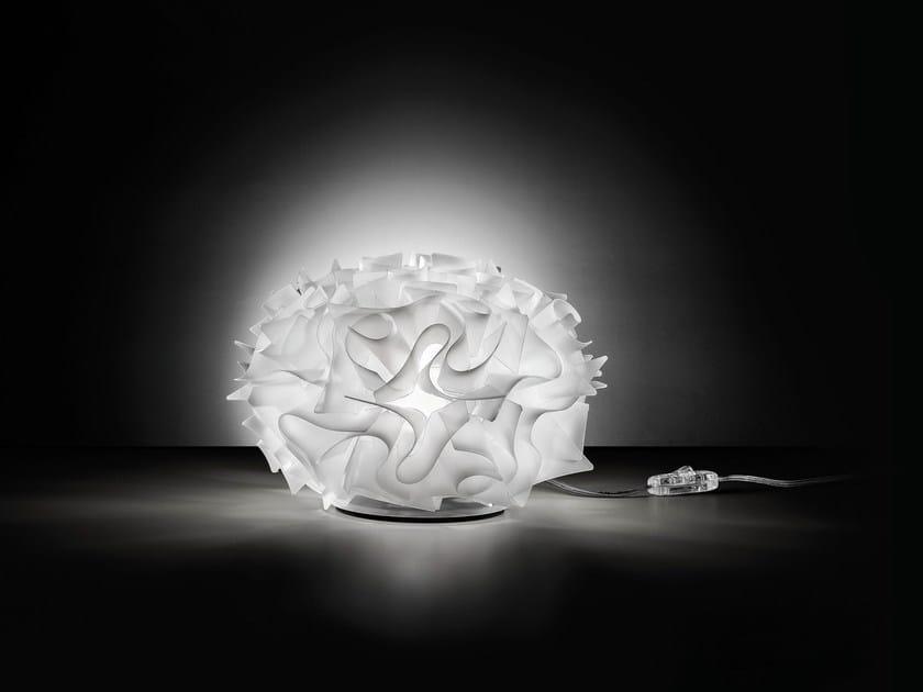 Opalflex table lamp veli table 32 by slamp design adriano for Slamp lampadari
