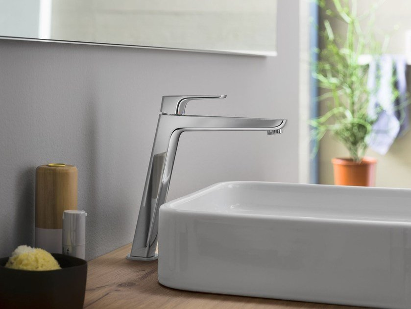 Countertop washbasin mixer with flow limiter ACQUAVIVA | Countertop washbasin mixer - Carlo Nobili Rubinetterie