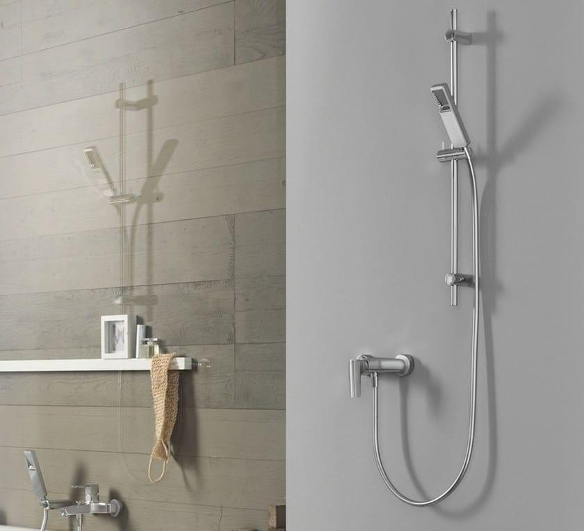 Shower wallbar with hand shower ACQUAVIVA | Shower wallbar with hand shower - Carlo Nobili Rubinetterie