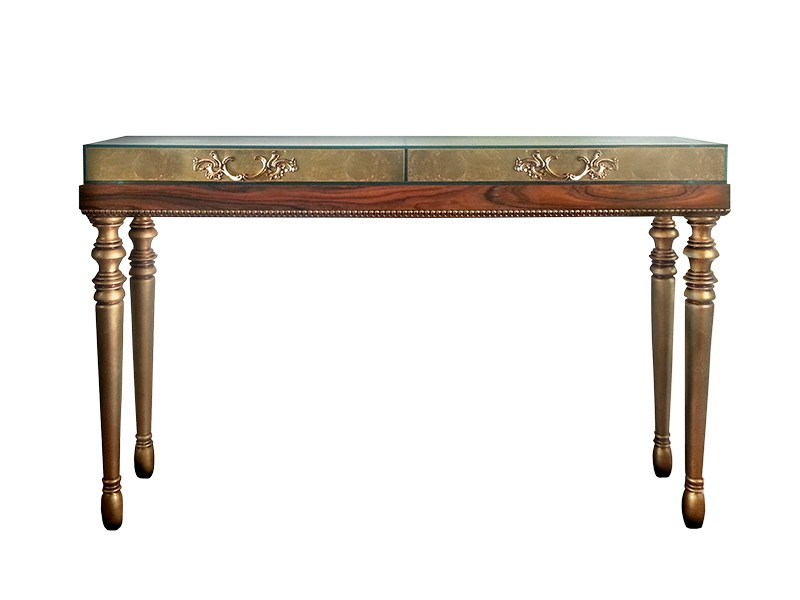 Wooden console table OURO - Malabar Emotional Design