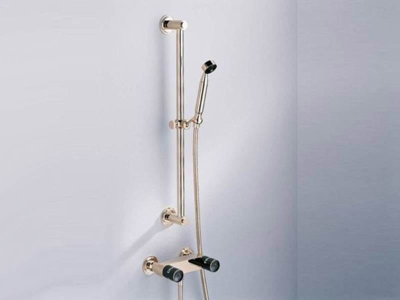 Shower wallbar with hand shower FAUBOURG | Shower wallbar - INTERCONTACT