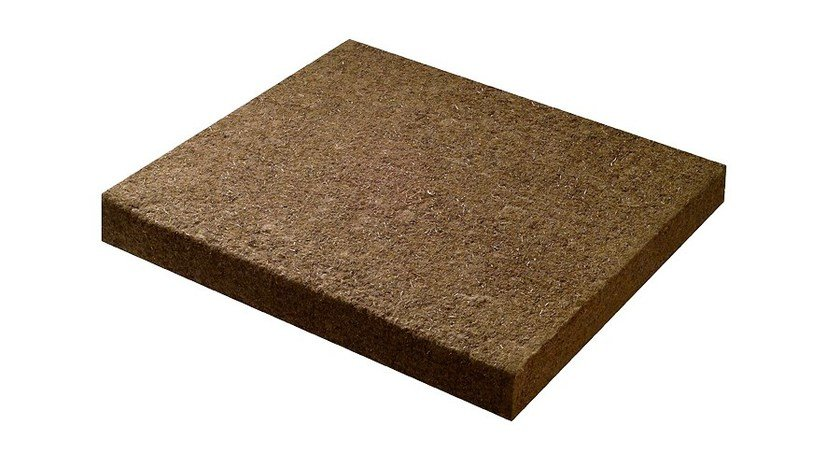 Acoustic panel with high resistance BitumFiber® 240 - BetonWood