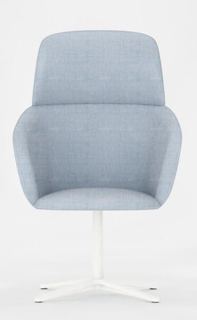 Rubber guest chair BONN | Armchair - Geelli by C.S.
