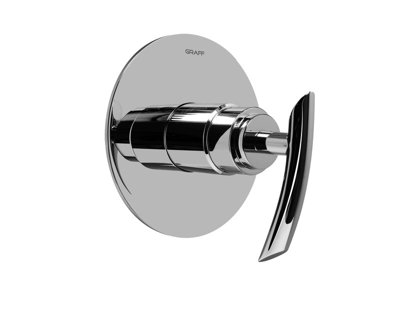 Chrome-plated shower mixer TRANQUILITY | Shower mixer - Graff Europe West