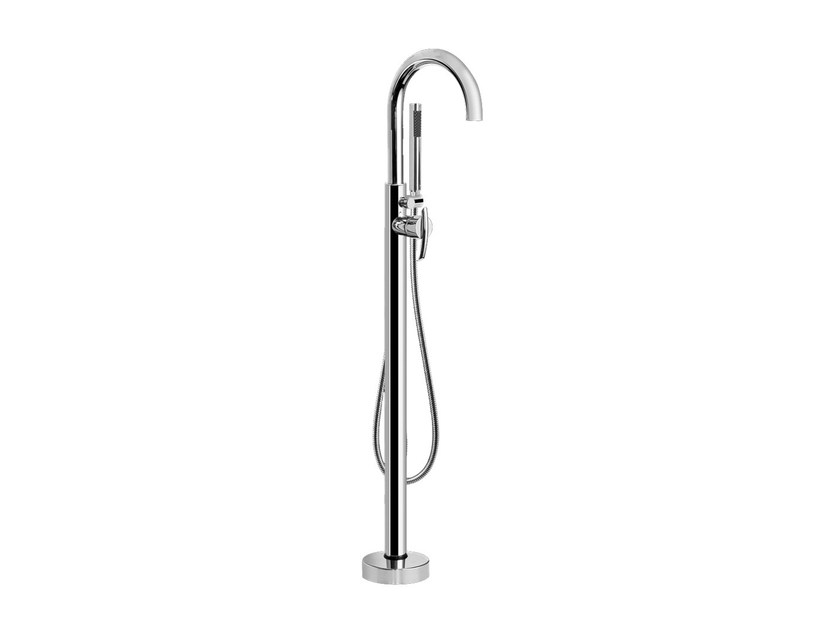 Floor standing bathtub tap with hand shower TRANQUILITY | Floor standing bathtub tap - Graff Europe West