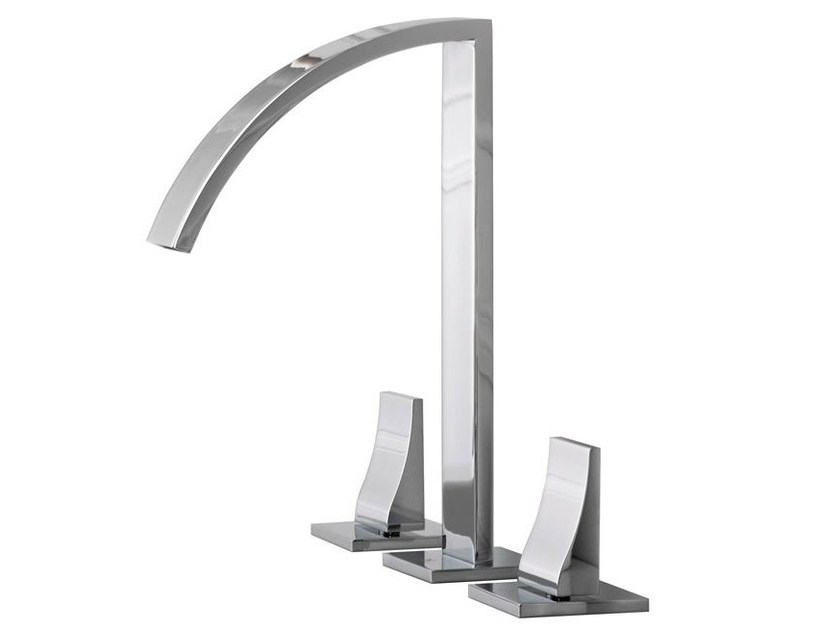 3 hole washbasin tap IMAGINE | Washbasin tap - NOKEN DESIGN