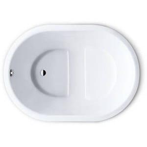 Built-in seated oval bathtub KUSATSU POOL - Kaldewei Italia