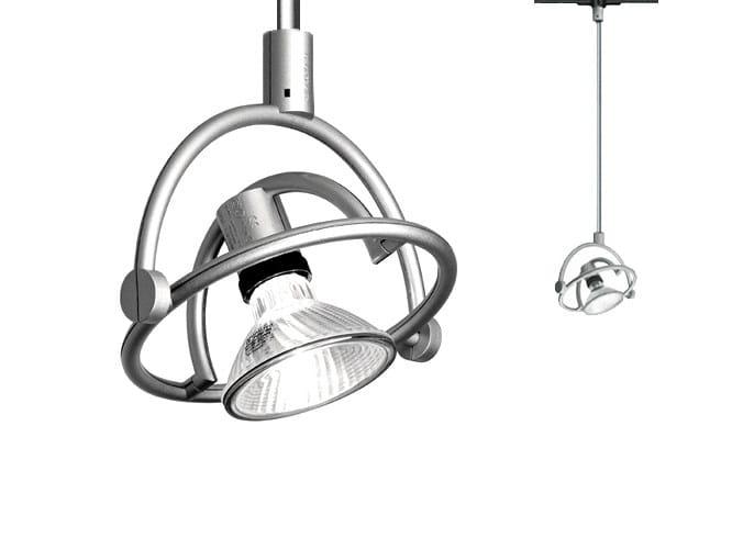 Suspended adjustable spotlight FARIUNO BINARIO SOFFITTO 50 - Cini&Nils