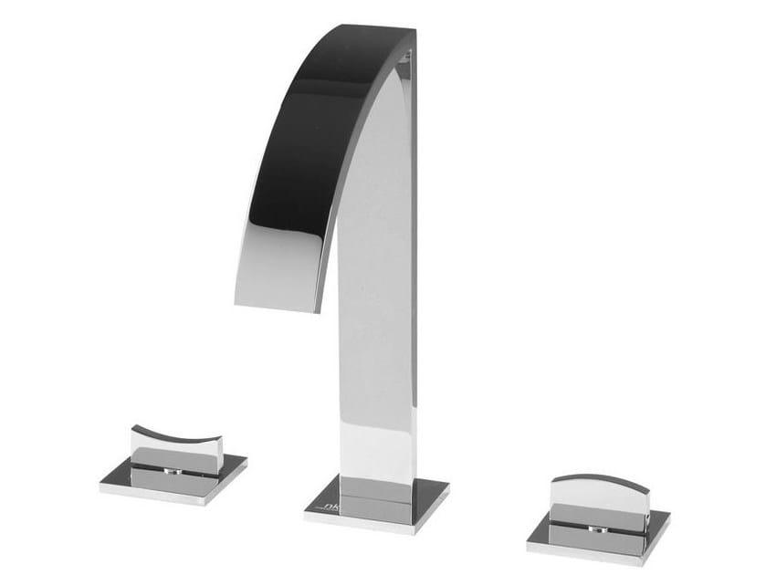 3 hole washbasin tap with flow limiter IMAGINE | 3 hole washbasin tap - NOKEN DESIGN