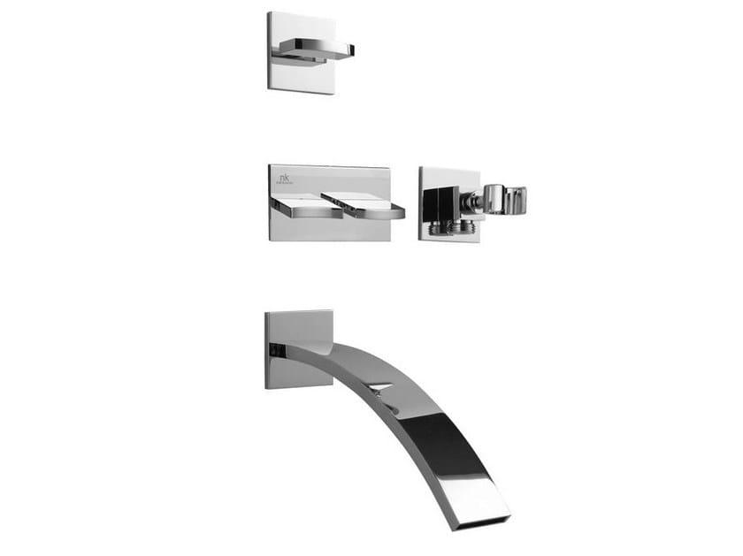 Bathtub tap / shower tap IMAGINE | Bathtub mixer with diverter by Noken