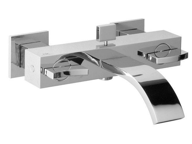 Wall-mounted bathtub tap with aerator with diverter IMAGINE | Bathtub tap with aerator - NOKEN DESIGN