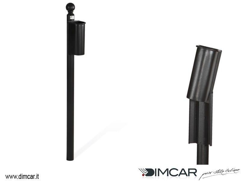 Metal ashtray Posacenere Cicco con colonnino - DIMCAR