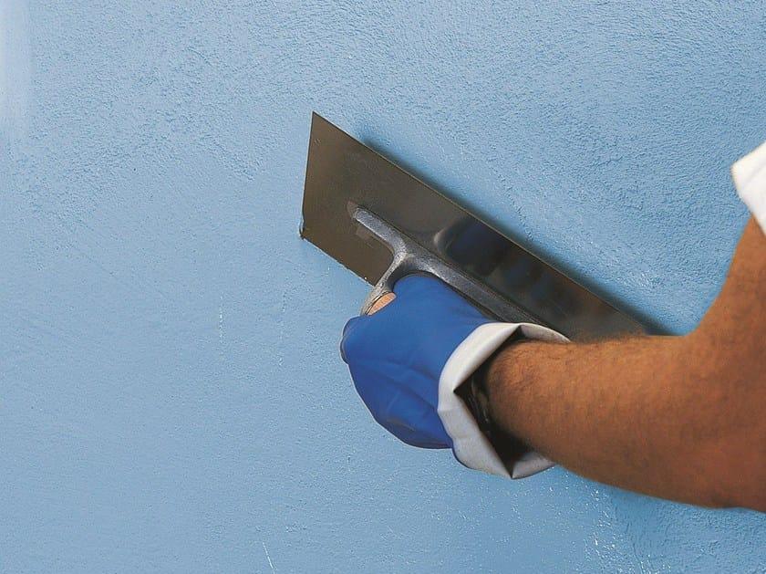 Cement plaster QUARZOLITE TONACHINO PLUS by MAPEI