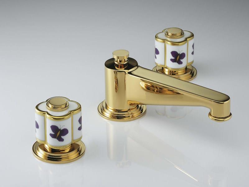 3 hole washbasin tap CAPUCINE | Washbasin tap - INTERCONTACT