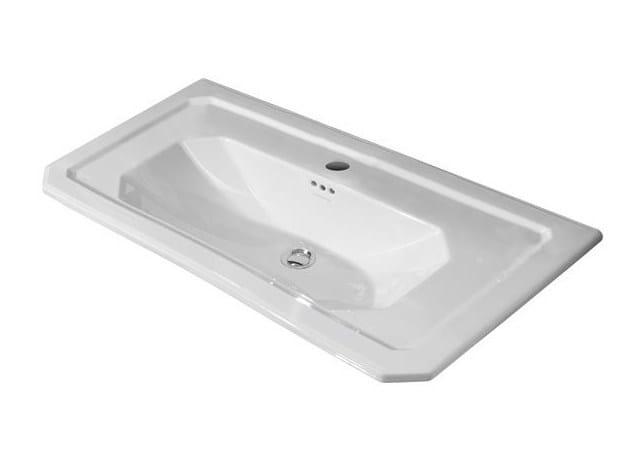 Console undermount washbasin with overflow IMAGINE | Console washbasin by Noken