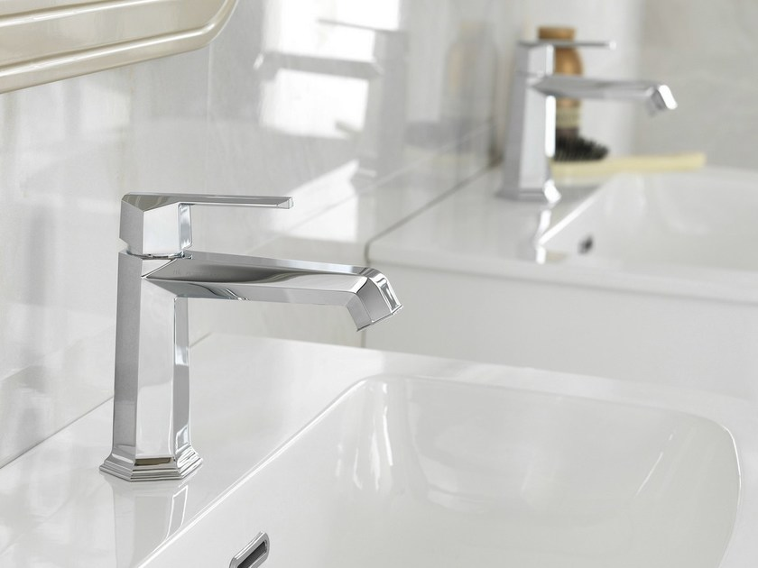 Chrome-plated 1 hole washbasin mixer CHELSEA | Washbasin mixer - NOKEN DESIGN