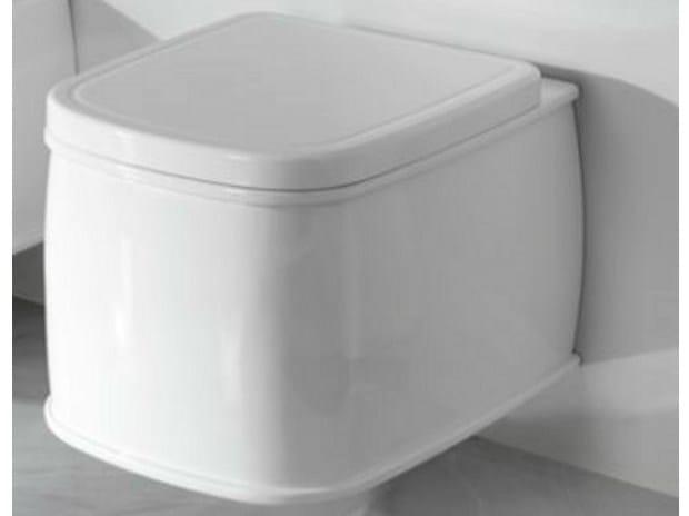 Wall-hung toilet CHELSEA | Toilet - NOKEN DESIGN