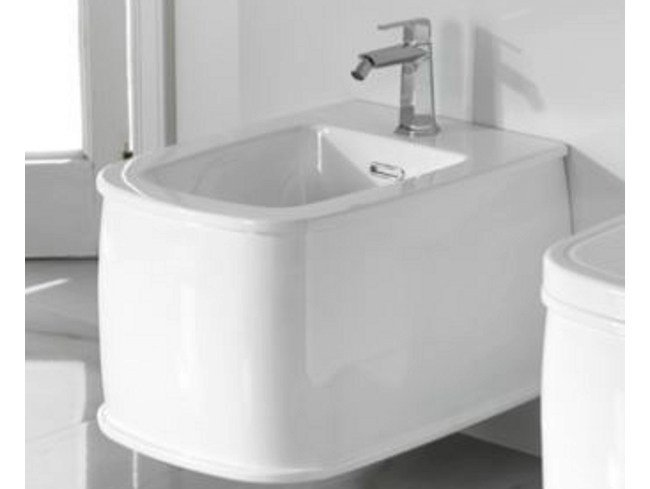 Wall-hung bidet with overflow CHELSEA | Bidet - NOKEN DESIGN