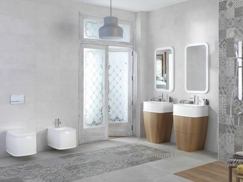 Countertop single washbasin with overflow CHELSEA | Countertop washbasin by Noken