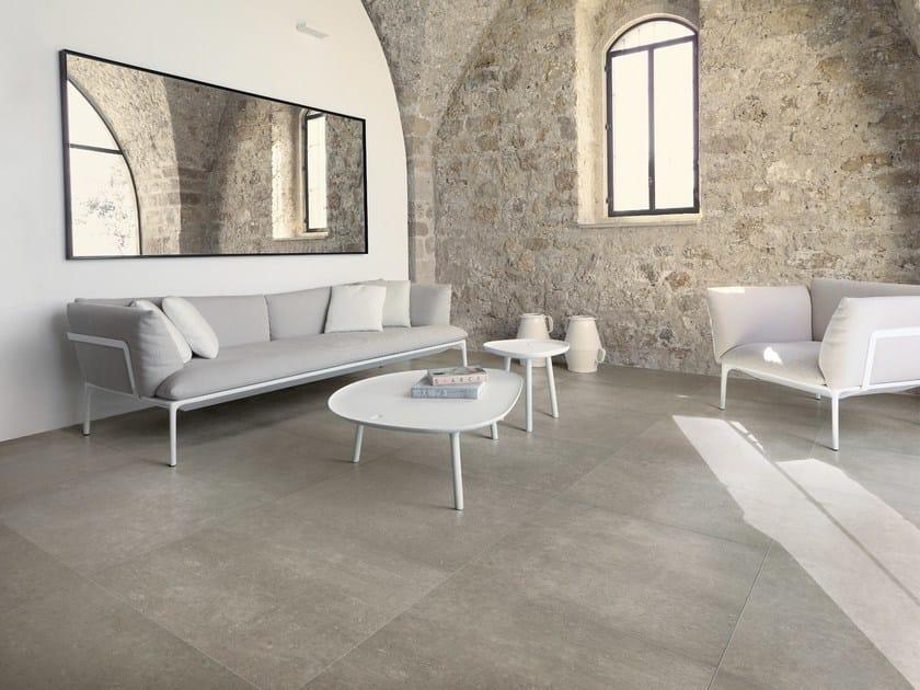 Pavimento in ceramica effetto pietra poesia ceramiche refin for Pavimento ceramica effetto parquet