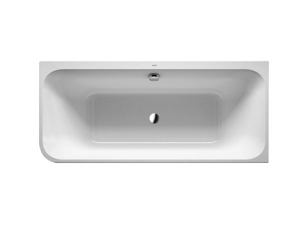 Corner acrylic bathtub HAPPY D.2 | Corner bathtub by Duravit