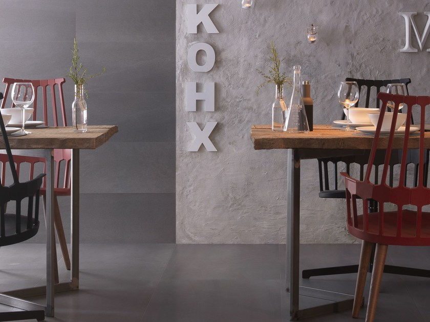 Antibacterial porcelain stoneware wall/floor tiles NOVA MICROBAN® - LEA CERAMICHE