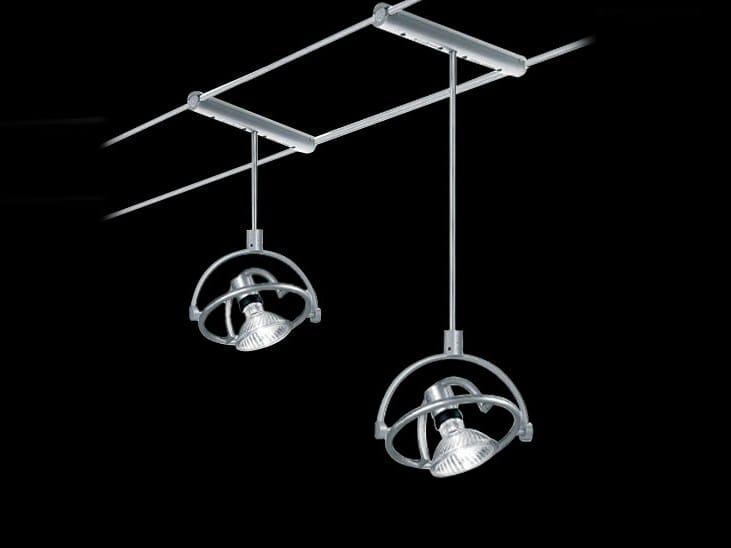 Ceiling spotlight with fixed arm TENSOFARIUNO 50/100 - Cini&Nils