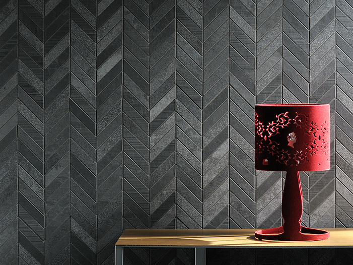 Porcelain stoneware wall tiles with stone effect ARDESIA MIX | Wall tiles - Ceramiche Coem