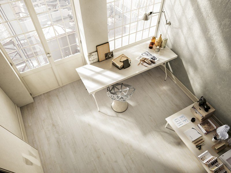 Glazed stoneware flooring with wood effect INEDITO by Ceramica d'Imola