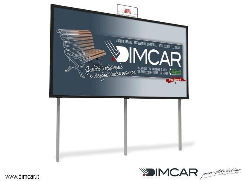 Display panel Tabellone Maxi 6x3 bi-facciale - DIMCAR