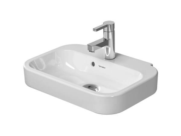 Ceramic handrinse basin HAPPY D.2   Handrinse basin with overflow - DURAVIT