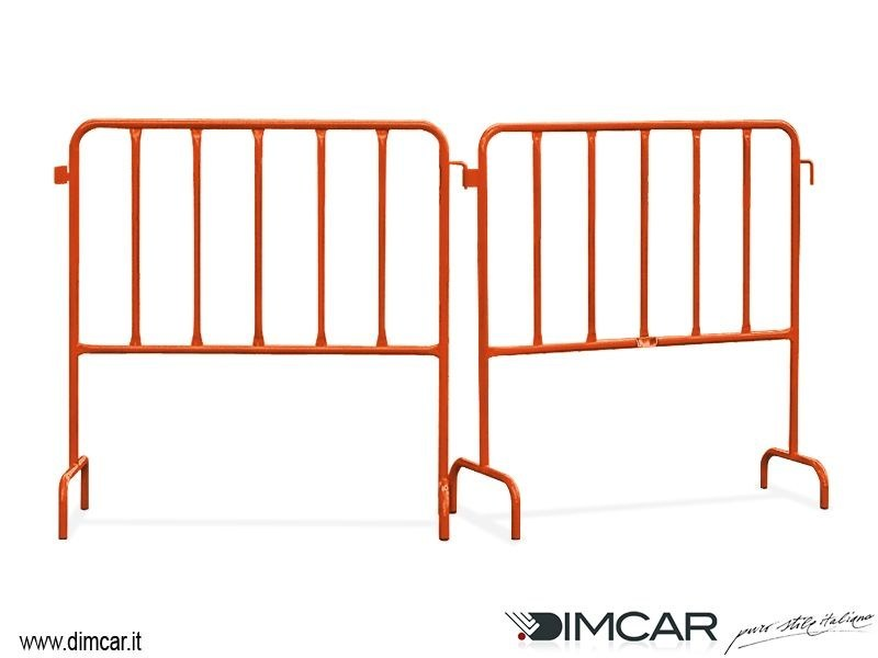 Metal pedestrian barrier Torino by DIMCAR