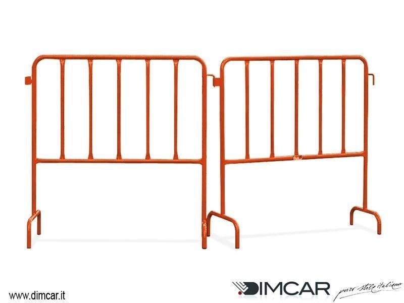 Metal pedestrian barrier Torino - DIMCAR