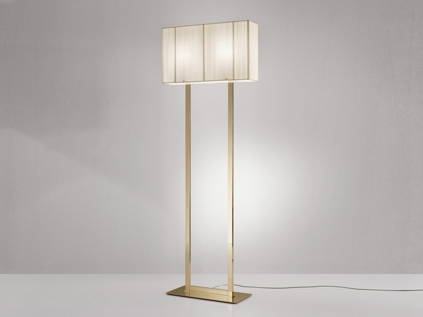 Handmade silk floor lamp CLAVIUS X | Floor lamp - AXO LIGHT