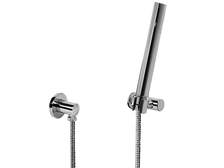 Wall-mounted chrome-plated handshower with hose TRANQUILITY | Handshower - Graff Europe West