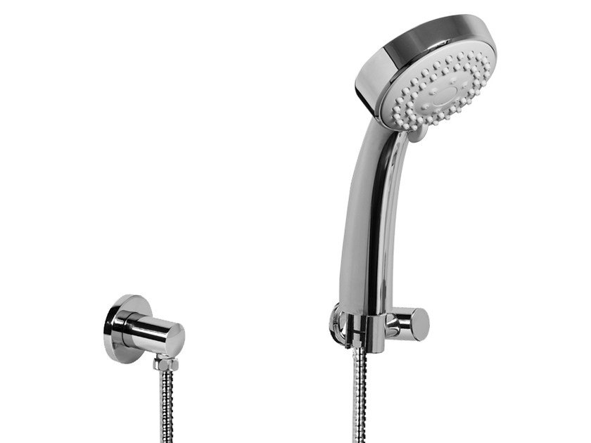 Wall-mounted chrome-plated handshower with hose TRANQUILITY | Wall-mounted handshower - Graff Europe West