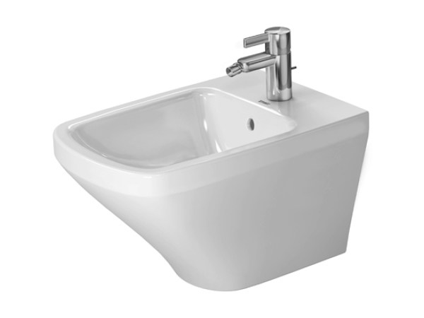 Wall-hung ceramic bidet DURASTYLE | Ceramic bidet by Duravit