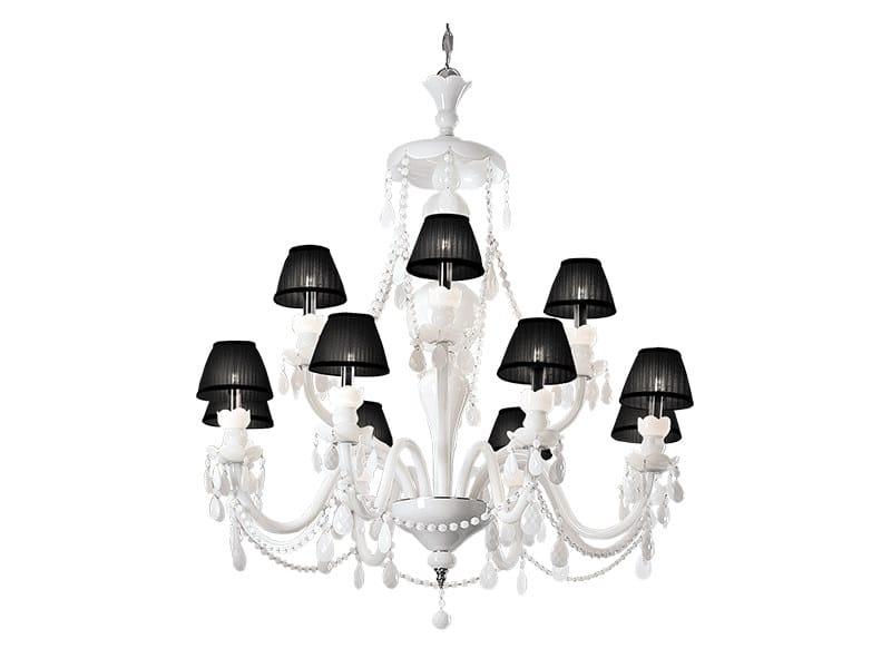 Brass chandelier ELIZABETH | Chandelier - CreativeMary